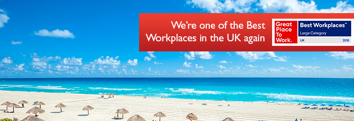 We're one of the Best Workplaces in the UK again - Sunday Times