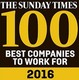 The Sunday Times Best Companies To Work For 2016